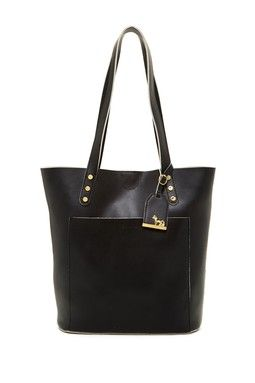 N/S Leather Tote