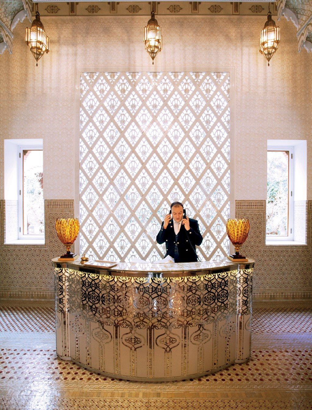 Hot List 2011 New Hotels Conde Nast Traveler Hotel Reception Desk Hotel Lobby Design Hotel Interior Design