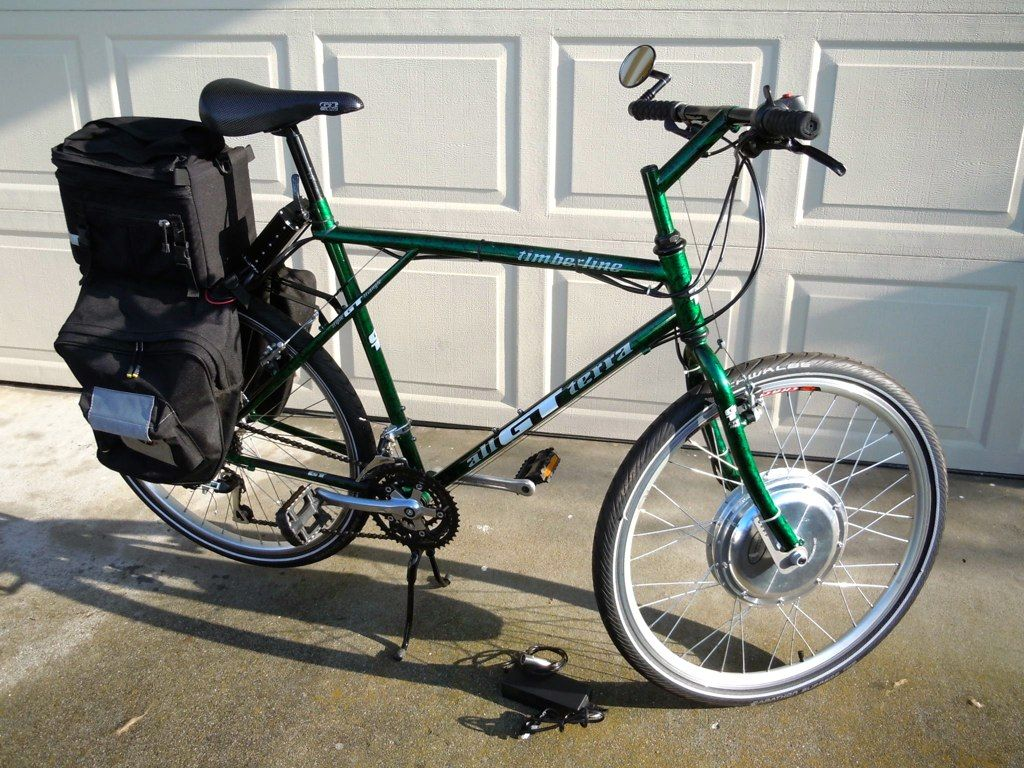 Electric Bicycle Gt Terra Timberline Gadgets Pinterest