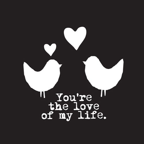 Citaten Love Bird : Love birds you re the of my life via fonq
