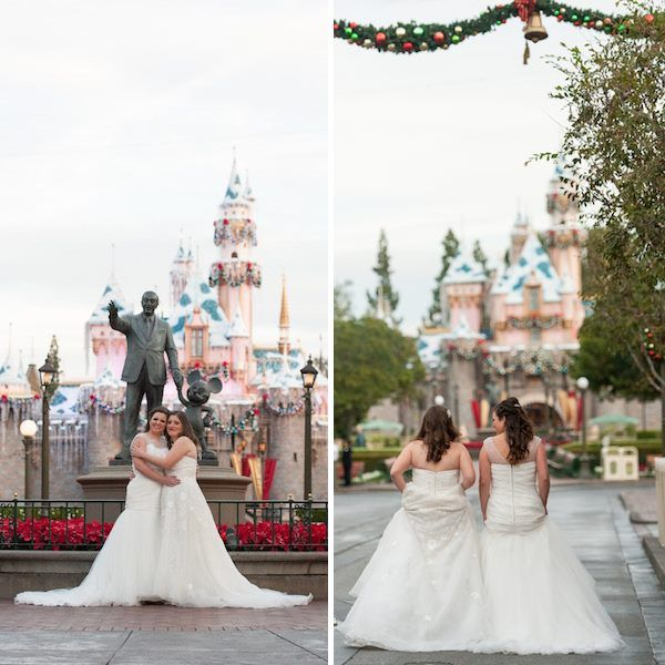 Brides Books And Bees Renee Diana S Disneyland Wedding