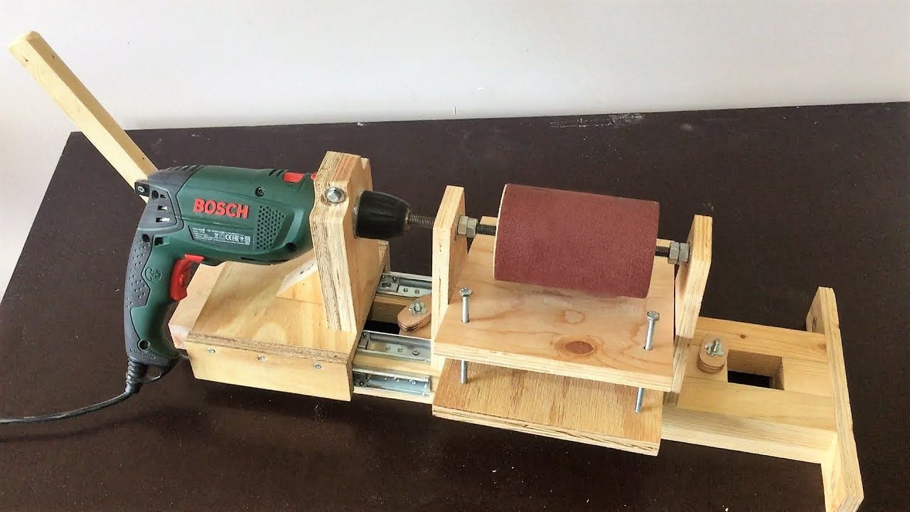 4 in 1 Drill Press Build Pt3 Thickness Sander / 4 in 1