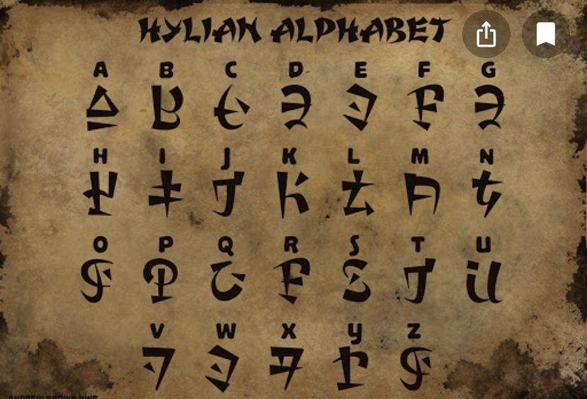 34++ Hylian letters info