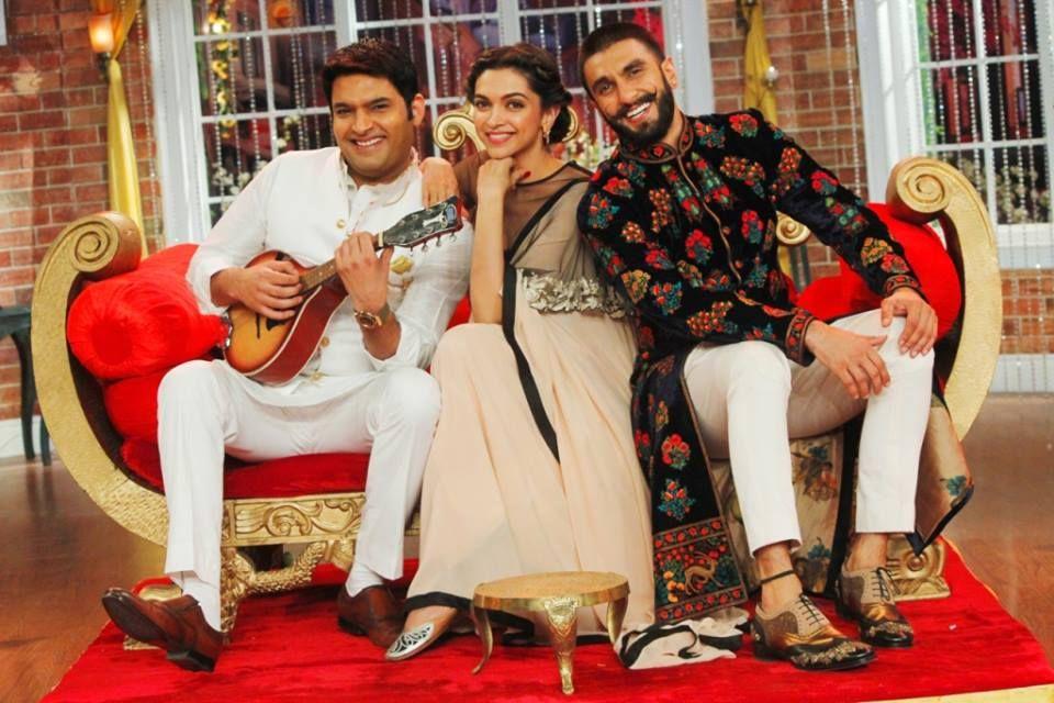 Comedy Night With Kapil Cnwk Ranveer Singh Deepika Padukone 13th December 2015 Special Episode Comedy Nights With Kapil Ranveer Singh Favorite Celebrities