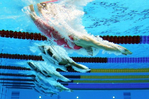 11 amazing shots captured by underwater cameras at the olympics dvice