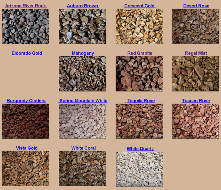 Different Types Of Decorative Stones : Landscape gravel types review ideas for using