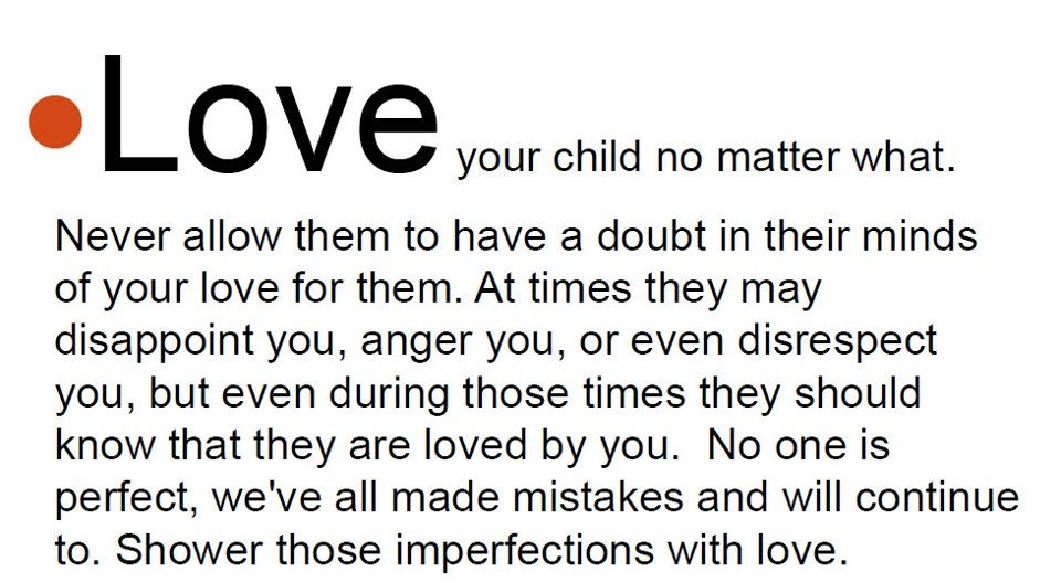Love Your Child No Matter What Quotes Love You Anger