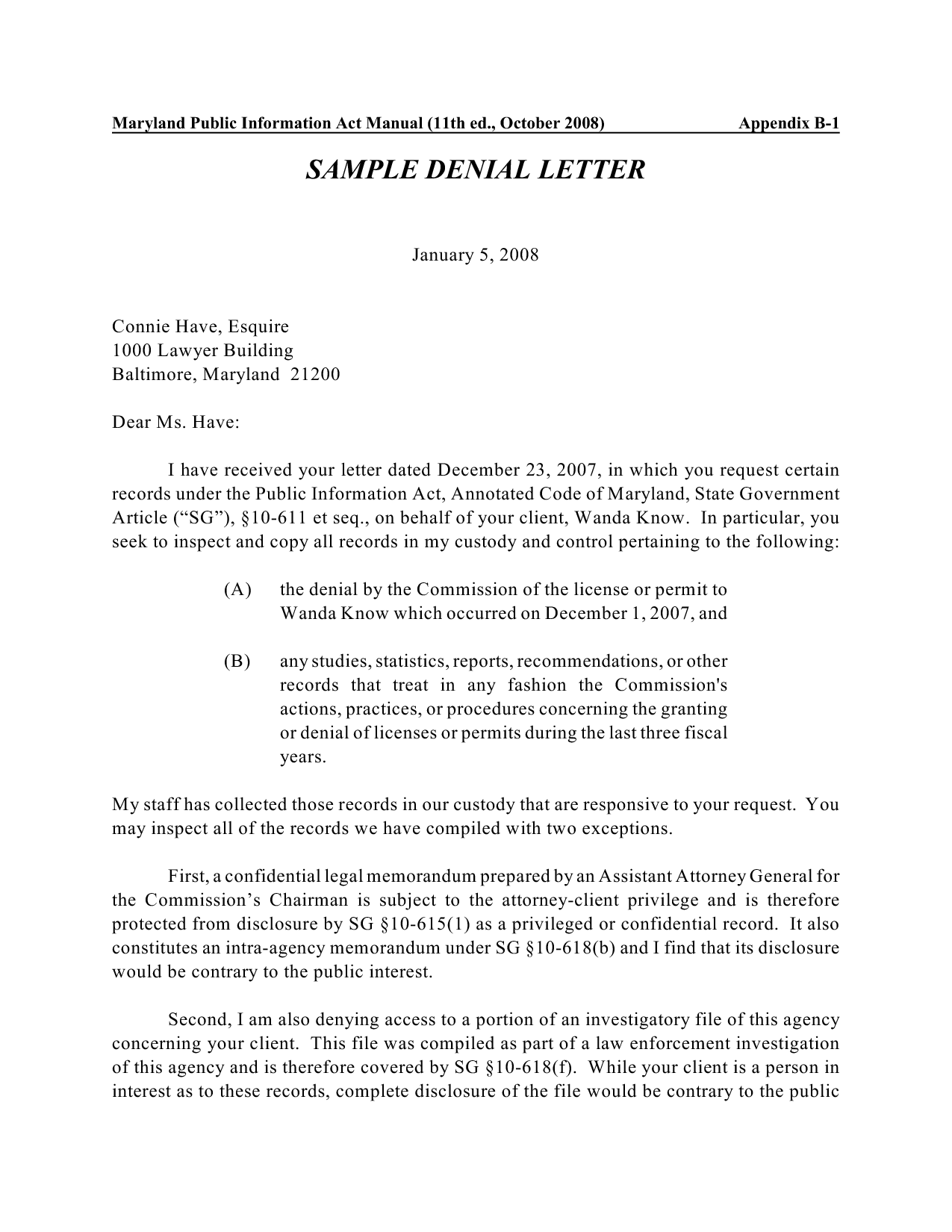 Ssn denial letter rejection letters credit and debt dispute home