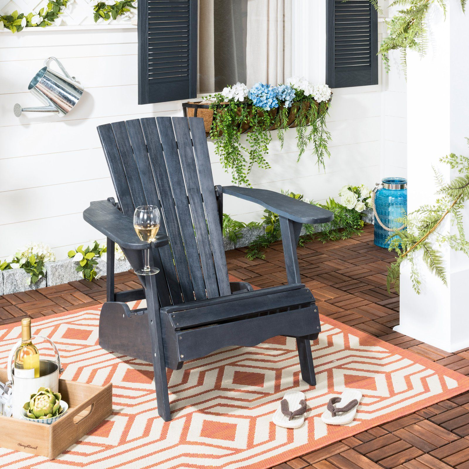 Super Outdoor Safavieh Vista Adirondack Chair In 2019 Products Gmtry Best Dining Table And Chair Ideas Images Gmtryco
