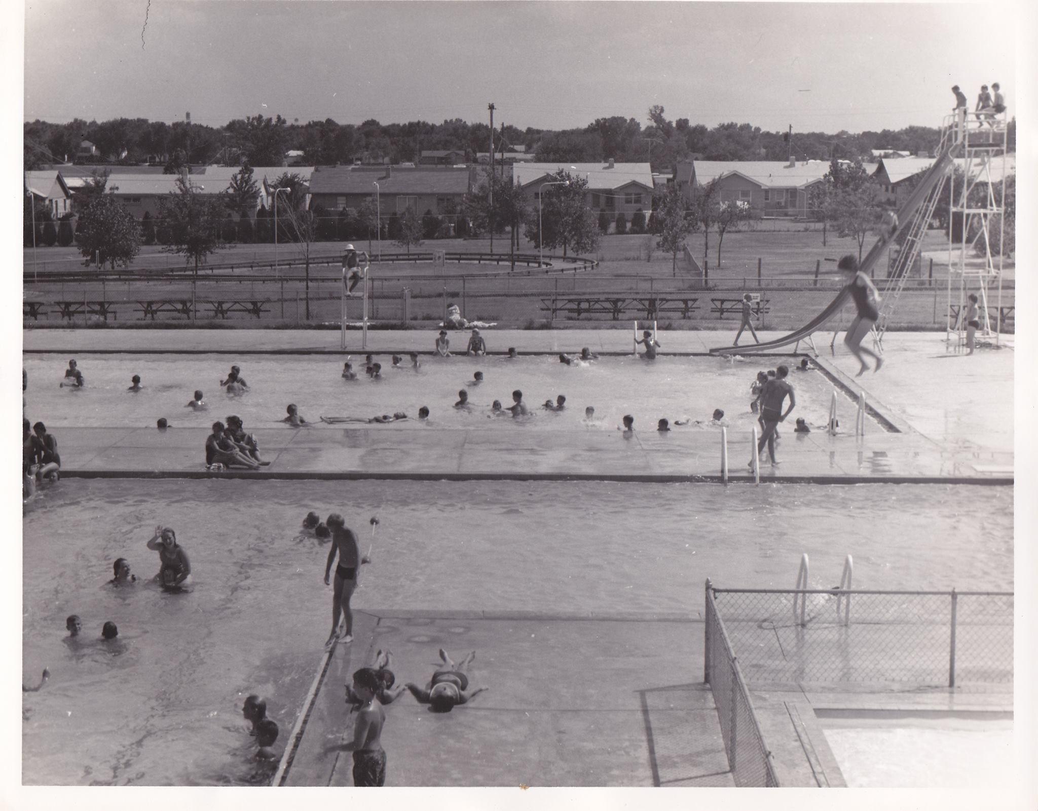 Pool At Kiddieland Wichita Ks Wichita Kansas Old Pictures