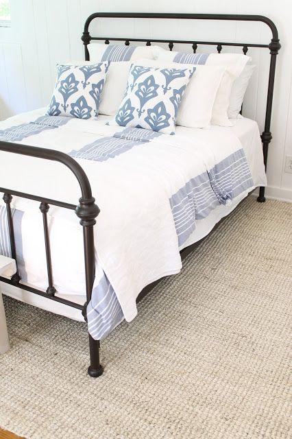 Carpet burn on bedsheets.