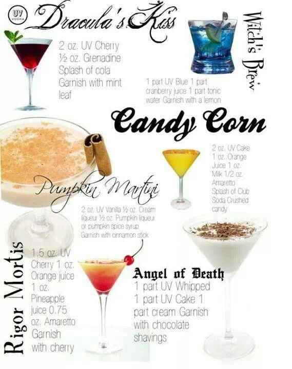 halloween cocktail ideas and recipes