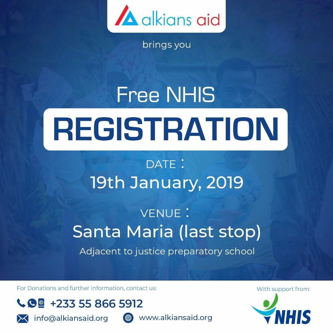 Alkians Aid Partners Nhis To Provide Free Health Insurance