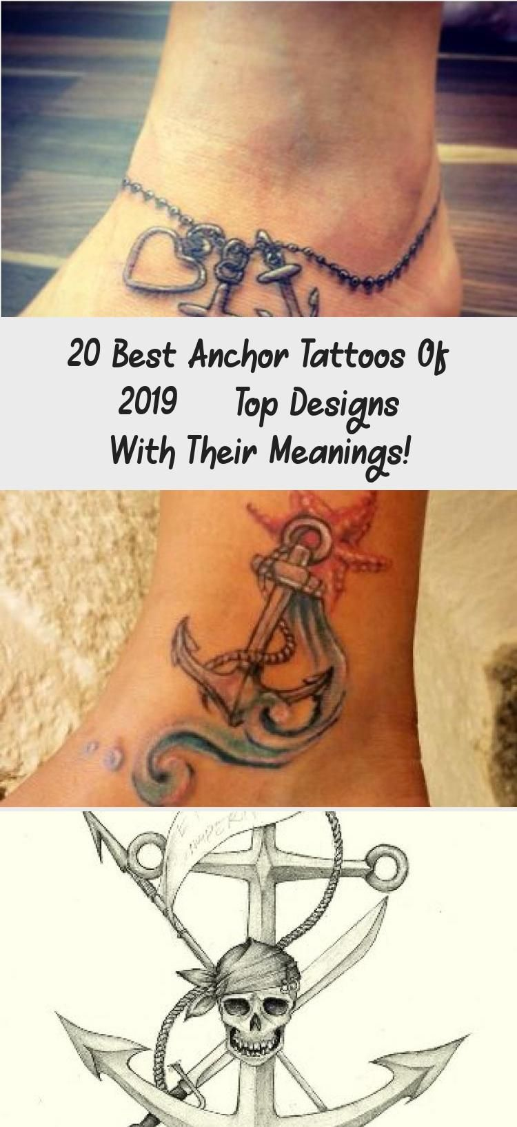 20 Best Anchor Tattoos of 2019 Top Designs with their