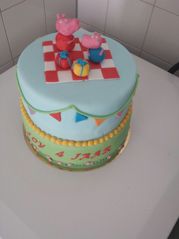 Peppa Pig Cake Peppa Big Taart Peppa Pig Cake Big Taart Cake