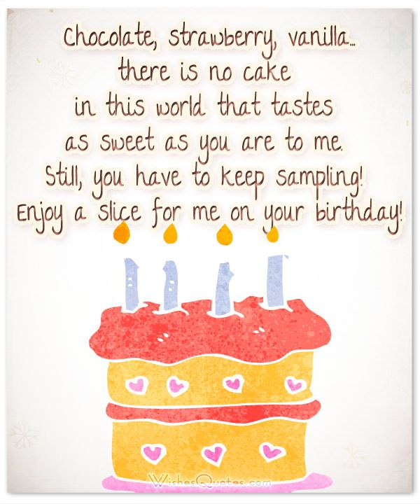 100 Sweet Birthday Messages, Adorable Birthday Cards, Wishes and