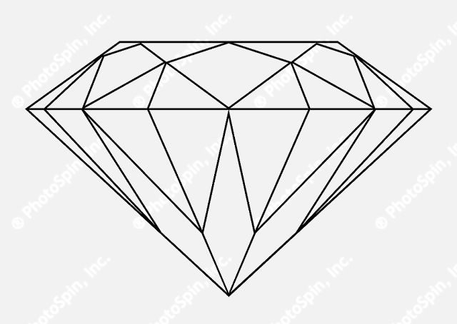 diamond outline - Google Search | Muller Brockmann Ideas ...