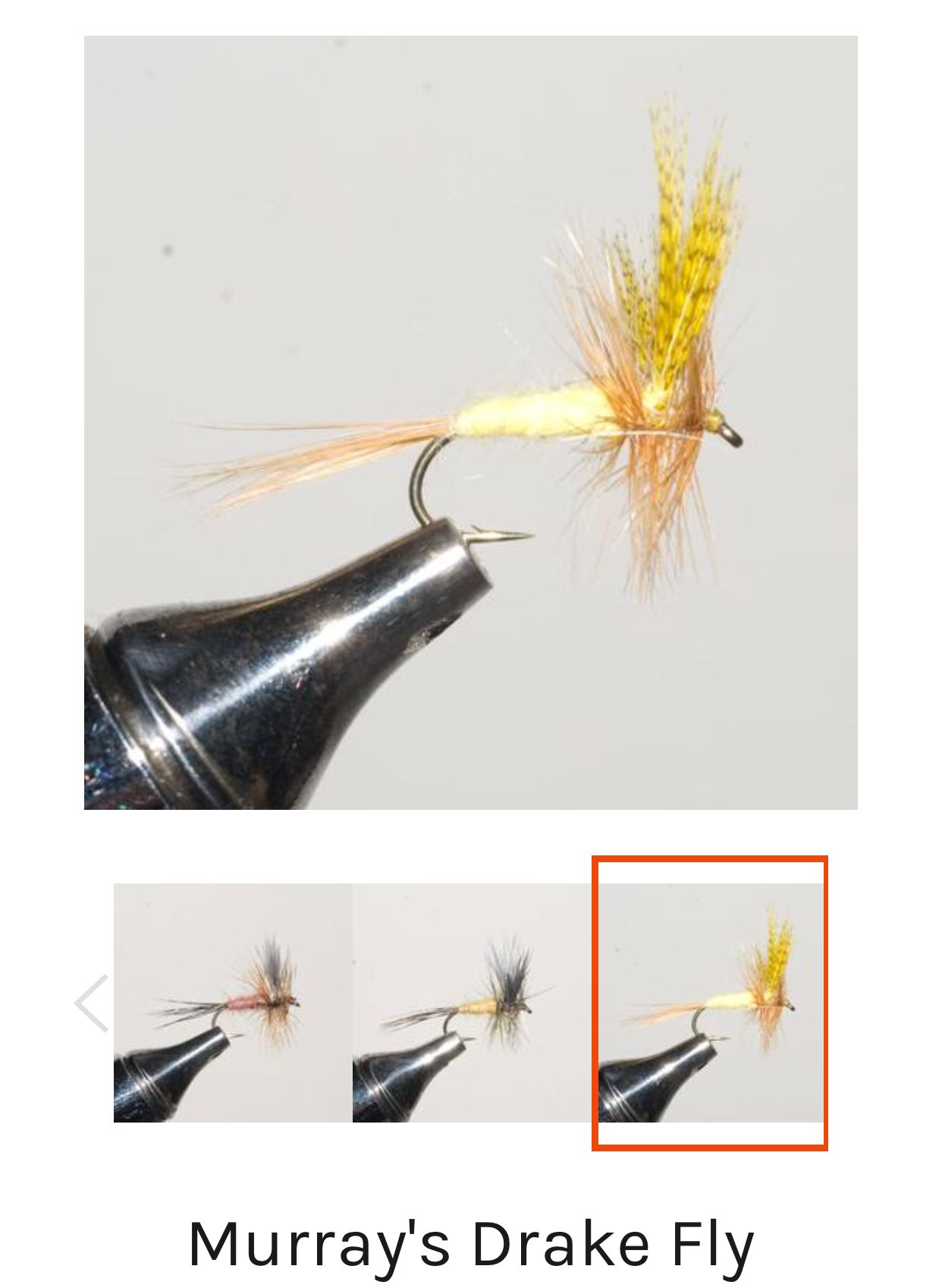 For Fly Fishing Size #14// #16 #18 Griffiths Gnat Dry Trout Flies
