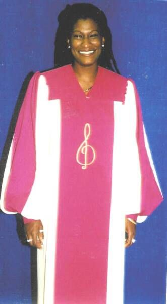 Choir Practice in Robes | Church Choir Clipart