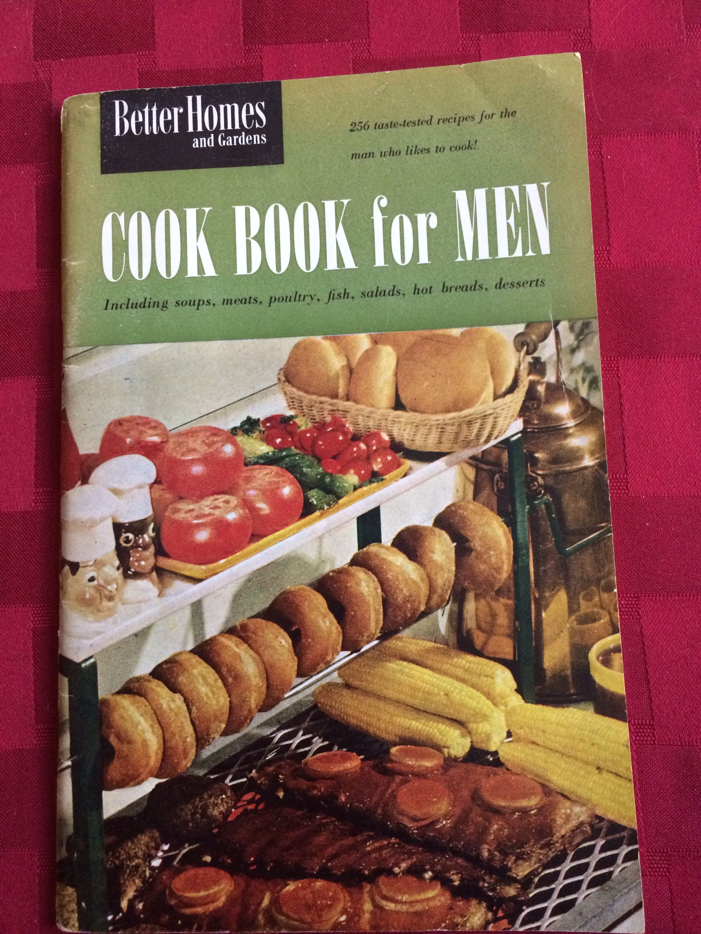 Better homes gardens cook book for men features charcoal charlies food forumfinder Image collections