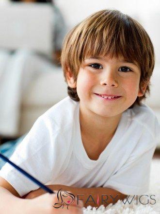 Stunning Short Brown 100 Indian Remy Hair Kids Wigs 8 Inch Boy Haircuts Long Boys Long Hairstyles Little Boy Haircuts