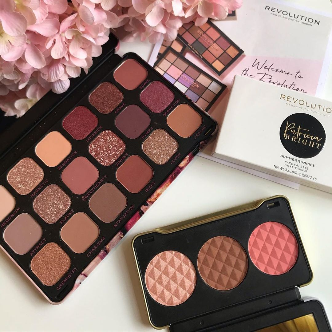 "Revolution Makeup on Instagram ""All blush everything"