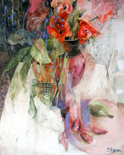 Shirley Trevena - a master at leaving white spaces