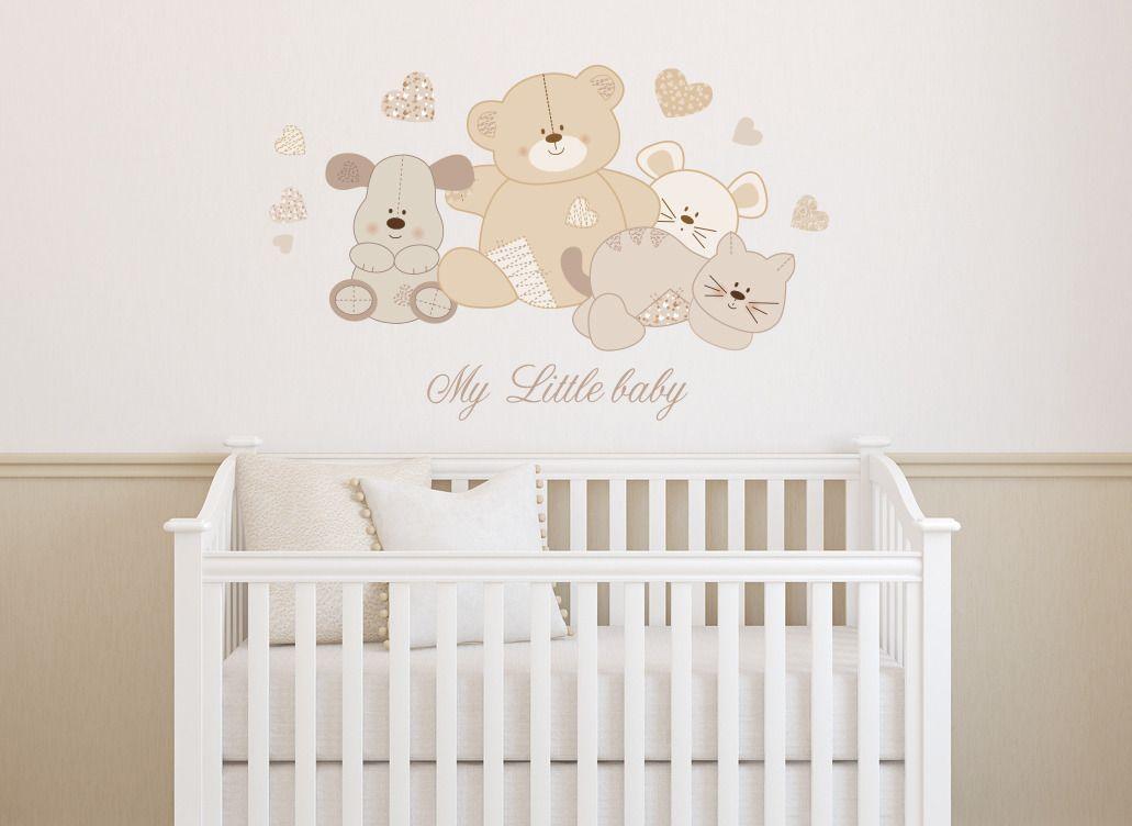 Adesivi murali adesivo wall stickers casa. Adesivi Murali Bambini Decorazioni Camerette Pupazzi Di Pezza Decorazioni Baby Nursery Decals Personalized Wall Decals Nursery Decals Girl
