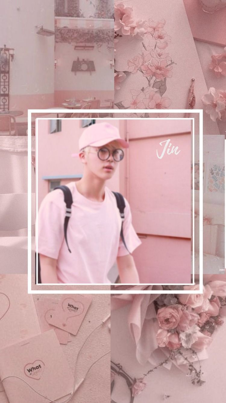Bts Jin Aesthetic Wallpaper Jinaesthetic Bts Jin