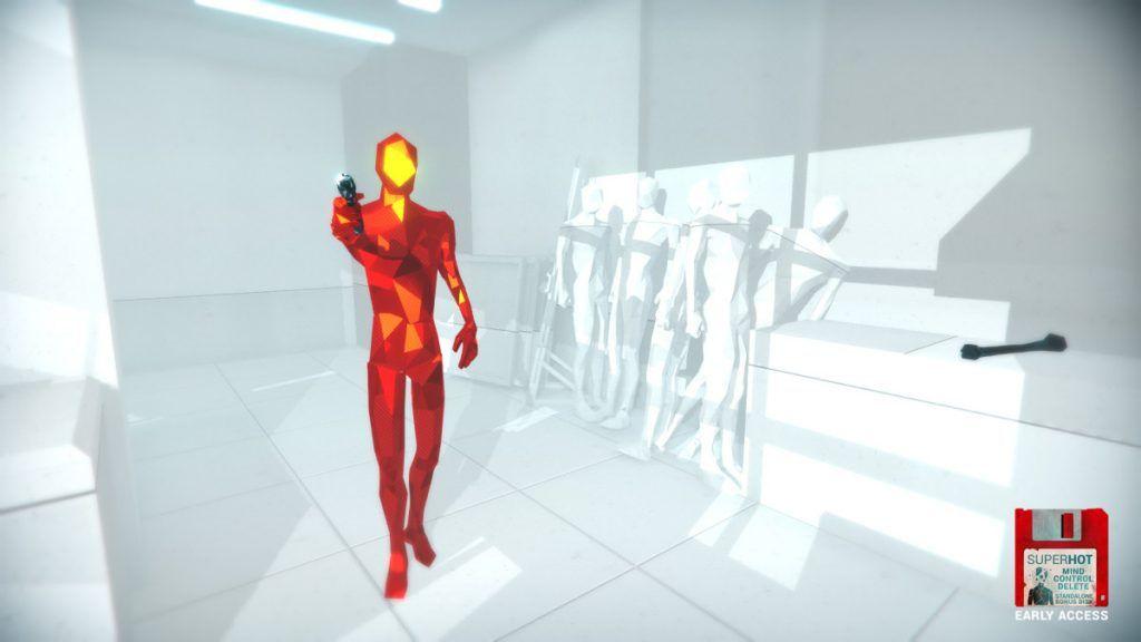 Superhot VR studio tested 'larger' levels for Oculus Quest