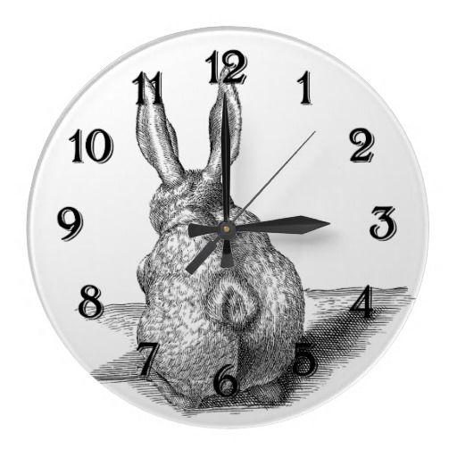Bunny Wallclock