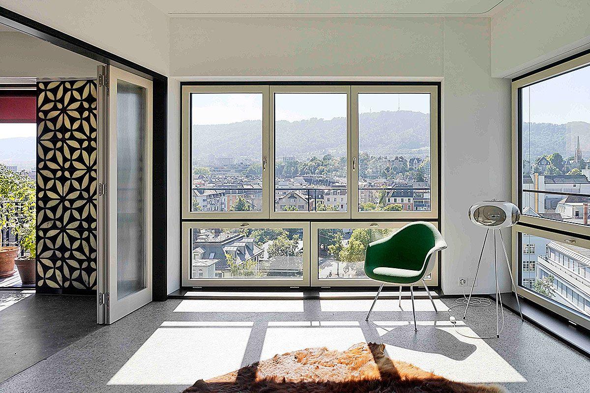 Hohes Haus West, Zürich | Loeliger Strub Architektur | Wohnen ...