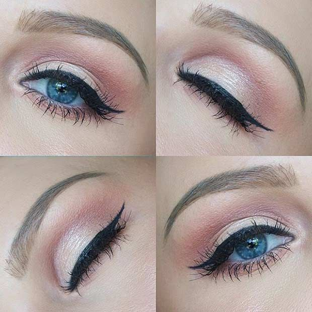 19 Easy Everyday Makeup Looks Mua Inspiration Pinterest