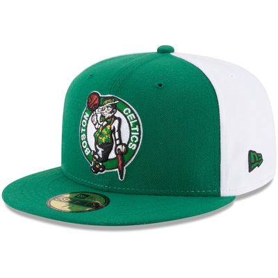 super popular a47fe 21fe1 Men s New Era Kelly Green Boston Celtics Y2K Pinwheel 59FIFTY Fitted Hat