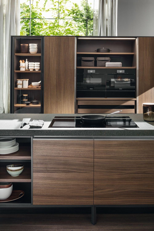 Vvd Cucina Con Isola Di Design Piano In Pietra Cucine Dada