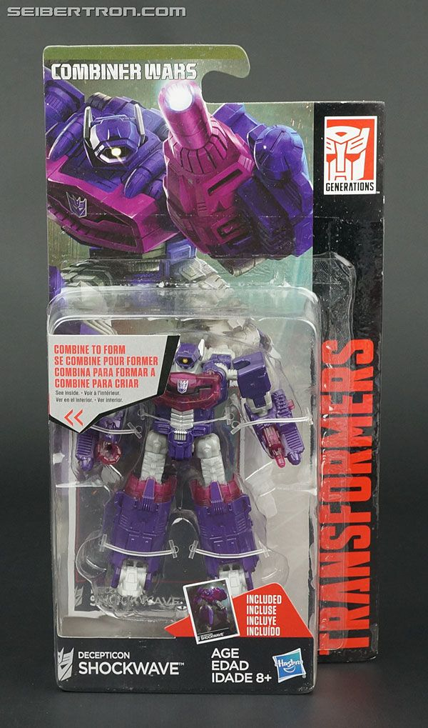 Transformers Generations Combiner Wars Legends Class Shockwave Figure