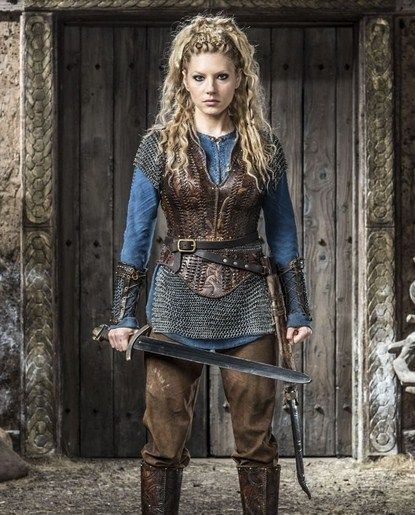 Viking woman cosplay