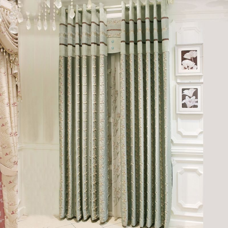 Simple Best Selling Elegant Green Room darkening curtains In 2018 - New curtain treatments Top Design