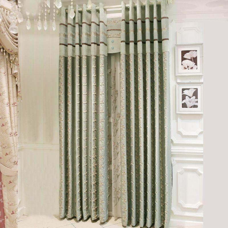 Simple Best Selling Elegant Green Room darkening curtains In 2018 - New curtain treatments Top Design
