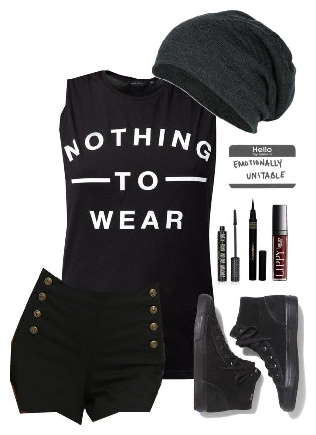 """""""i hate wearing shorts but it's so hoooot"""" by rejected-outcast ❤ liked on Polyvore featuring Keds, Topshop and Napoleon Perdis"""