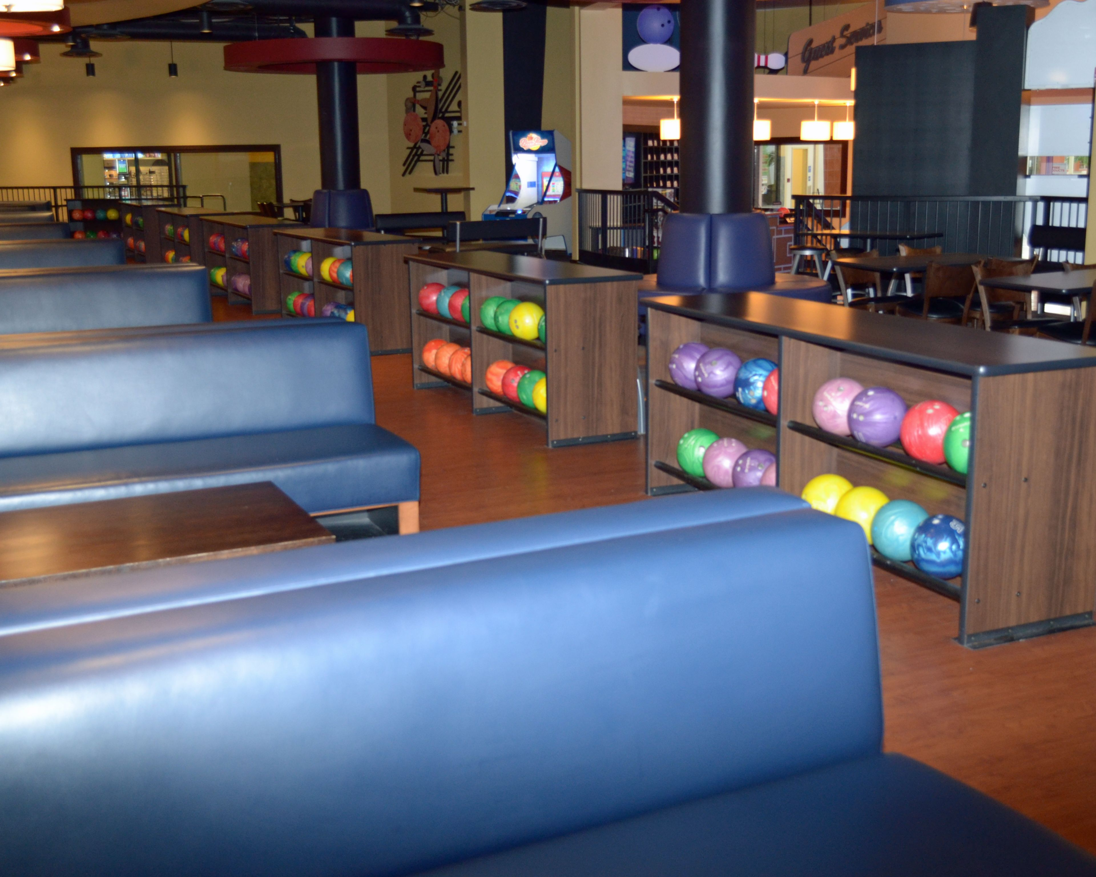 Venue Furniture Had The Opportunity To Provide All Of The Furniture For CW  Lanes And Games