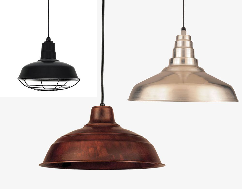 Hi-Lite Manufacturing RLM Warehouse Shade Exterior Pendant Lighting ...
