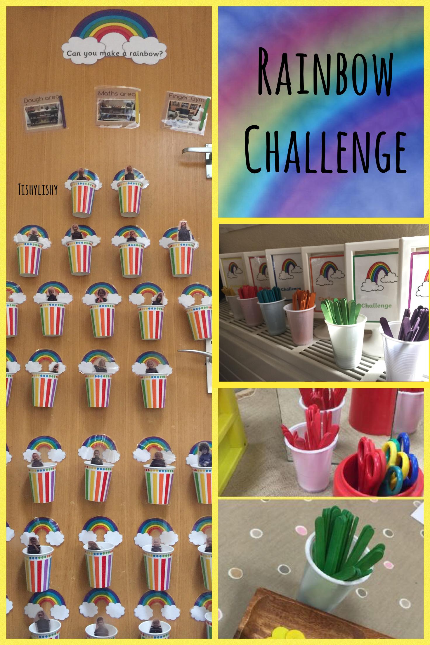 Classroom Management Ideas Ks1 ~ My rainbow challenge system eyfs free flow pinterest