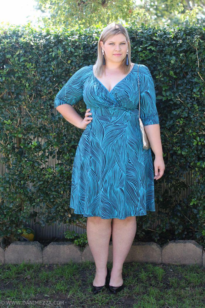 Danimezza Aussie Curves Plus Size Fashion Ootd Igigi Wedding Guest