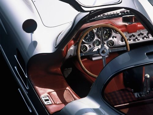 Interior View 2 1955 Mercedes 300slr Uhlenhaut Coupe With