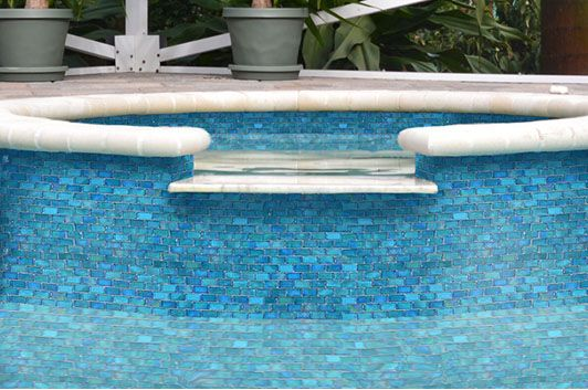 make your pool stand out with pool tile