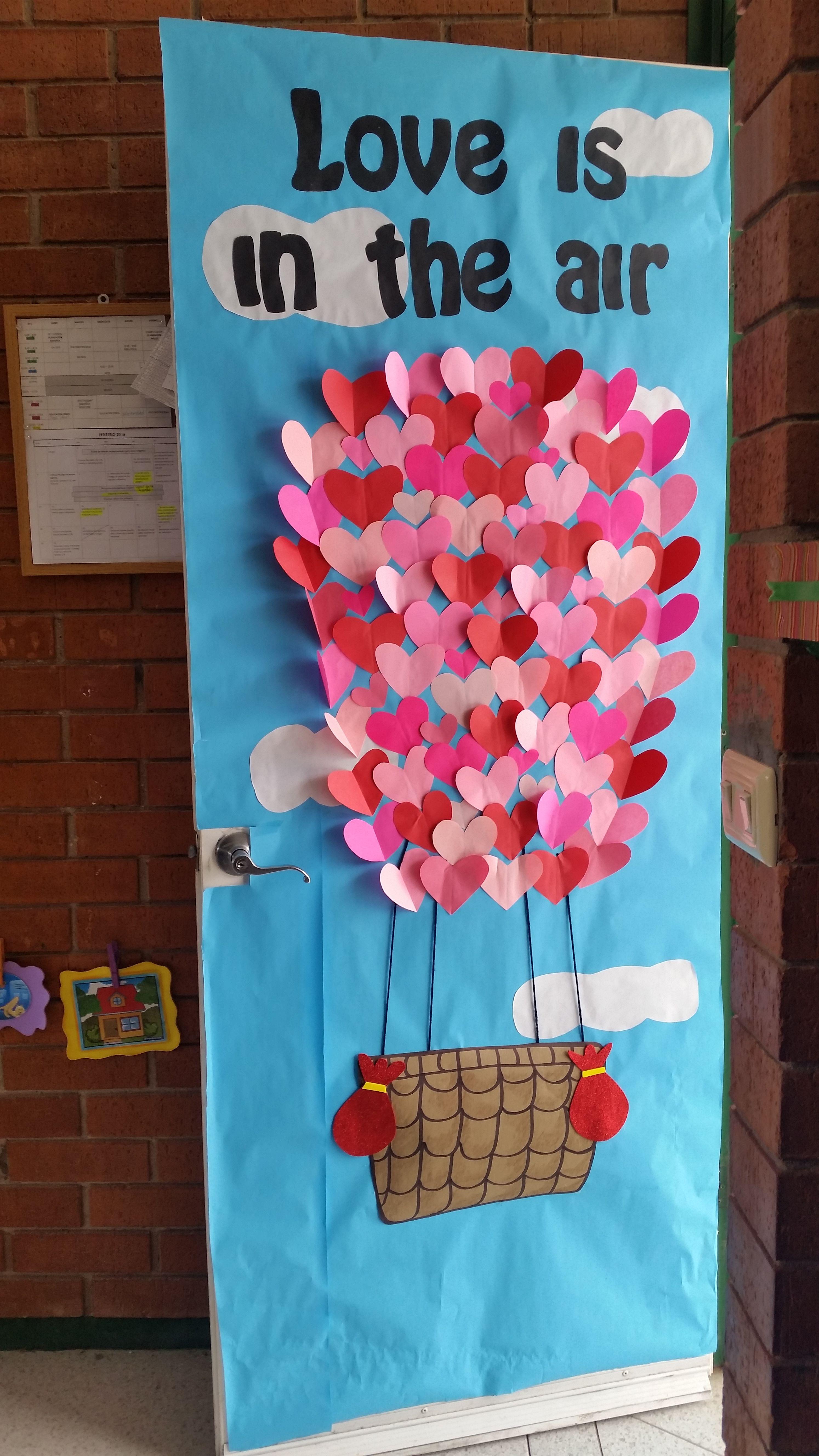 Puerta febrero for Puertas decoradas 16 de septiembre