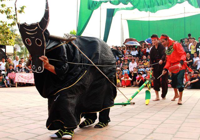 Lễ hội Kén rẻ làng Đường Yên - Lễ hội lớn tháng 2 âm lịch