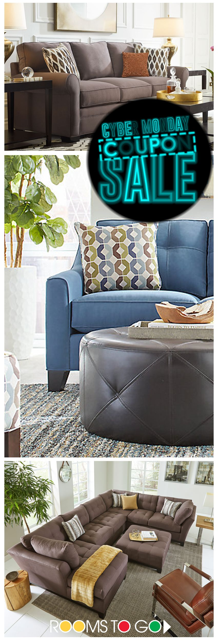 Design My Living Room Online: Shop Rooms To Go Now During Our Holiday Sale, And Don't