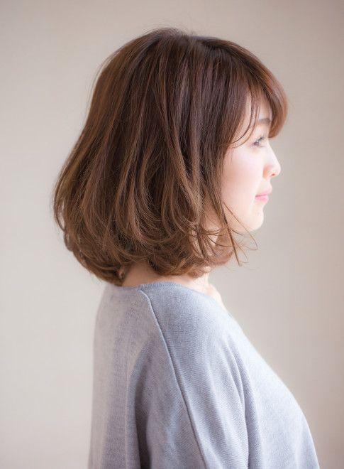 ミディアム ふわっとまとまる春髪2016 Ramie Ginzaの髪型 ヘア